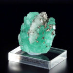 Emerald with Calcite and Cubic Pyrite (49A)