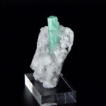 Emerald on Calcite and Lutite (171B)