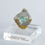 Emerald on Calcite (308A)